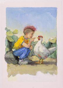 001 jij bent een kip