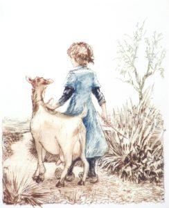 001 Janneke met de geit